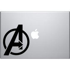 Avengers Logo Macbook Decal