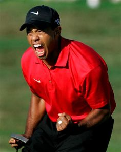 """#TigerWoods """"The Man"""" in golf"""