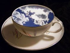 I had some dreams, they were clouds in my coffee.
