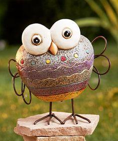 Rock Garden Friends - Owl