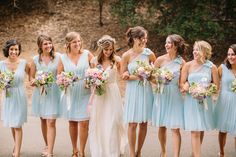 #Bridesmaid Dresses by @Ann Taylor | See the wedding on #SMP Weddings ~ http://www.stylemepretty.com/2013/12/12/oakland-california-wedding/  Danielle Capito Photography