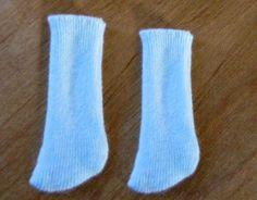 waldorf Doll sock pattern pdf