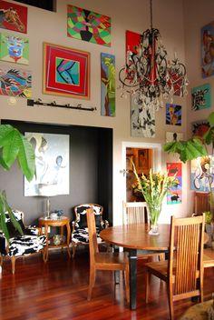 Howard's Eclectic Art-Filled Studio