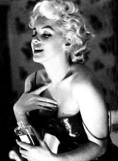 Chanel perfum Marilyn Monroe