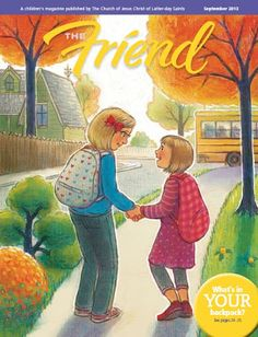 Free PDF Download of September 2014 issue of THE FRIEND magazine. friend magazin, magazin pdf, lds magazin