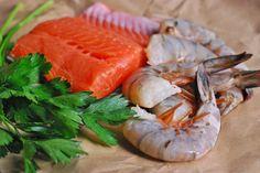 Deconstructed Stuffed Salmon by paleofoodiekitchen #Salmon #Shrimp