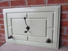 Vintage Cabinet Door Upcycle