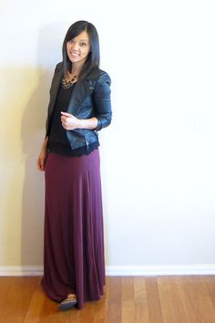 Putting Me Together: Flats and Boots with a Maxi Skirt