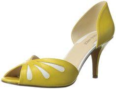 Nine West Women's Orlega Dress Pump,Yellow/White Leather,8 M US Nine West,http://www.amazon.com/dp/B00GX97SXO/ref=cm_sw_r_pi_dp_MHjotb1MTZCZMXE4