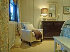 Coastal-Inspired Bedrooms : Rooms : HGTV
