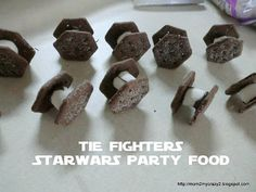Running away? Ill help you pack.: Star Wars Party ... Food - Jabba Jigglers, Obi-Wan Kabob-ie Kabobs & Tie Fighters