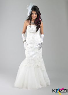 Every women dream to be a bride. Ofcourse, the gown that she wear should be the most beautiful.