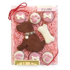For Tails Only - Bubba Rose® It's A Girl Gift Box, $11.89 (http://www.fortailsonly.com/bubba-rose-its-a-girl-gift-box/)