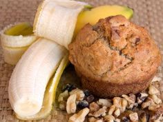 Low Calorie - High Protein Banana Muffins