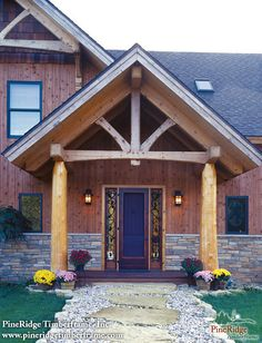 Prow Front On Pinterest Log Homes Cabin Plans And Post