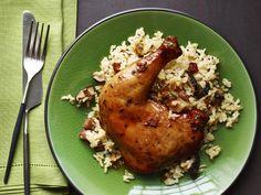 Hoisin-Glazed Roast Chicken Recipe : Food Network Kitchen : Food Network - FoodNetwork.com