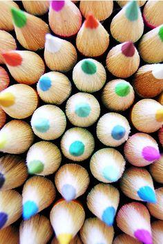 Colored Pencils #color