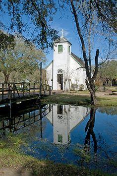 New Hope Chapel-Acadian Village Lafayette, Louisiana.
