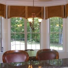 Window treatment ideas on pinterest 42 pins for Arched bay windows