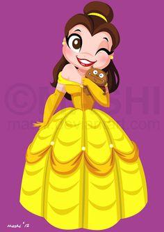 Belle by mashi.deviantart.com on @deviantART