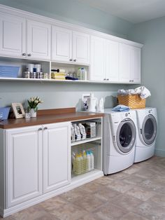 Laundry Rooms, Mud Rooms, Craft Rooms, and Garages