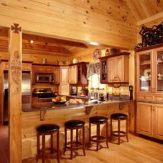 Photo Gallery::Log Homes in Australia | Thompson Properties