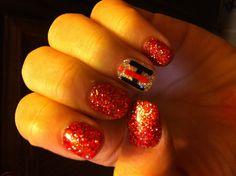 minus the glitter I rocked the case ih ring finger when I wed the farmer!