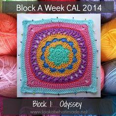 Block a Week CAL Odyssey
