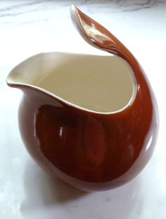 Eva Zeisel Red Wing Pottery Pitcher via Etsy