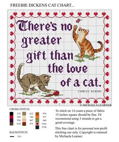 Cross-stitch Charles Dickens Quote