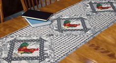 FREE PATTERN: Rooster Runner (from Quilt Trends Magazine)