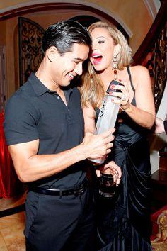 Adrienne Maloofs extravagant Zing Vodka bash