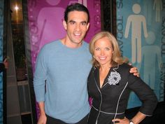 Katie Couric and me! Download my all-new FREE women's easy diet at http://JorgeCruise.com