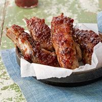 Glazed Country Ribs Recipe - Country Living
