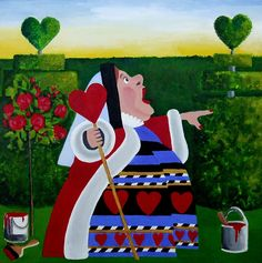 The Queen of Hearts by Anni Morris