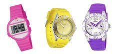 Reloj Puma, reloj de Pontina, reloj de Lotus