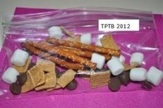 S'mores #Camping Theme Treats