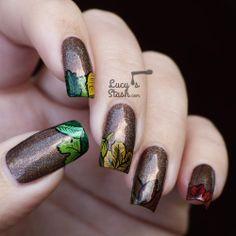 Last Autumn Nail Art of The Year