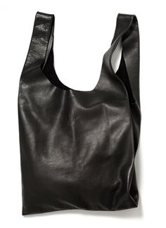 Baggu Leather Shopping Bag