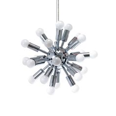 Pendant Lamp Cosmos Chrome Large - Designer: Leitmotiv Design Team