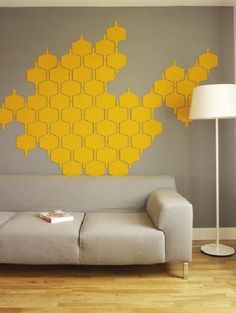 Flock Felt Wall Tiles by Hive