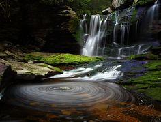 Elakala Waterfalls, Blackwater Falls State Park, West Virginia