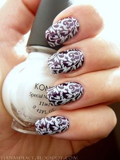 21 nail stencils examples