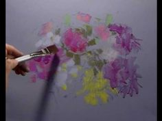 Flowers in Pastel - Part One - YouTube