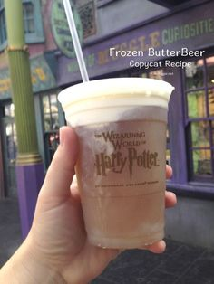 Frozen Butter Beer (