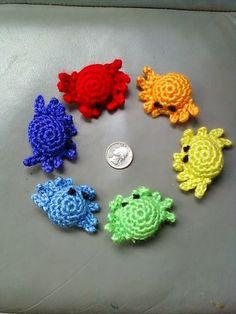 crabs, free pattern. ❥Teresa Restegui http://www.pinterest.com/teretegui/❥