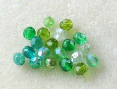 Czech Fire Polish Round Glass Beads  by CatsBeadKitsandMore, $4.29