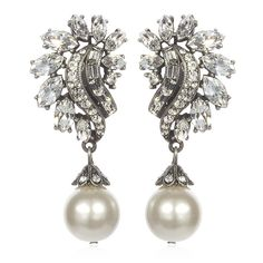style, accessori, pearls, pearl drop, deco pearl, art deco, jewelri, drop earring, earrings
