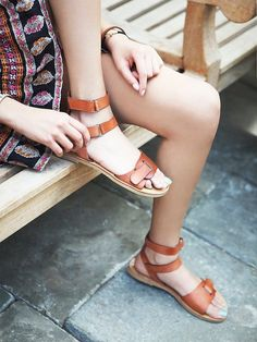 Perfect Summer Sandal at Free People Clothing Boutique