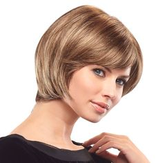 Short Bob with highlights // Wigs and Hair Replacement